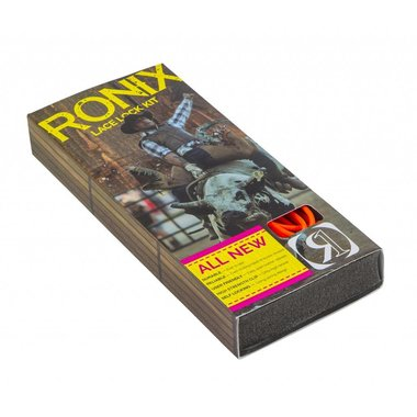 Ronix 2017 Ronix Lace Lock Kit - Orange (set of 4 laces and lace locks)