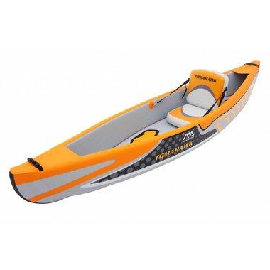 Aqua Marina 2017 Aqua Marina Tomahawk 1-person DWF High-end kayak,DWF seats,AC-80321 kayak paddle, Jombo pump, Magic backpack
