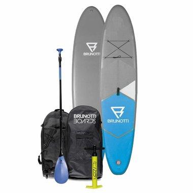 Brunotti 2017 Brunotti Fat Ferry 10'6 iSup Board Package w/Paddle / Blue