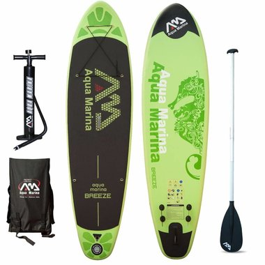 Aqua Marina 2017 Aqua Marina Breeze 9'9 iSup Board Package w/Paddle