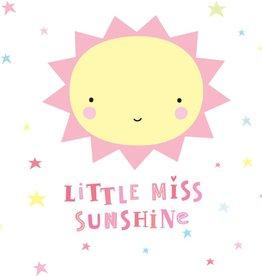 Muurstickers: Miss Sunshine