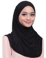 My Abaya Scarf Leena Black