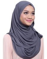 My Abaya Scarf Leena Grey