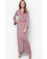 My Abaya Wrap Dress Taupe