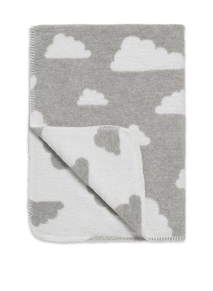 Meyco Ledikantdeken Little Clouds Grey