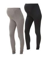 Mama Licious Lea Organic Legging Duo-Pack