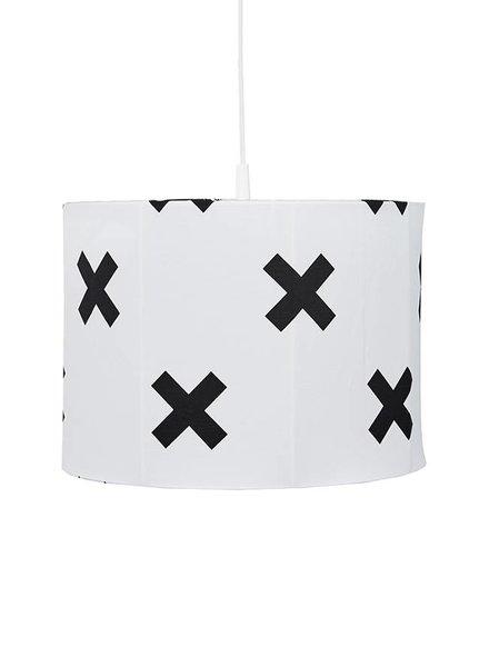 Bink Hanglamp Cross White&Black