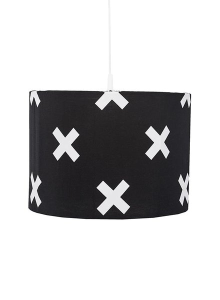 Bink Hanglamp Cross Black&White