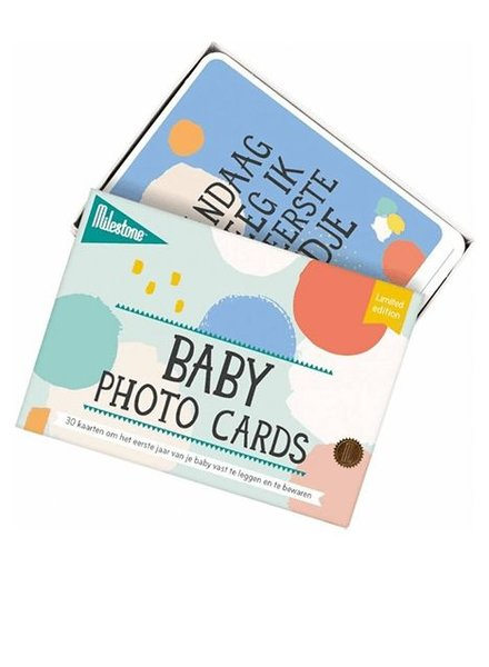 Milestone Milestone Baby Cards Limited Edition
