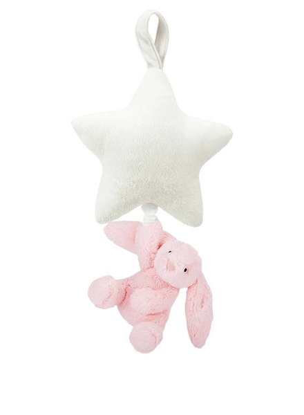 Jellycat Bunny Star Musical Pink