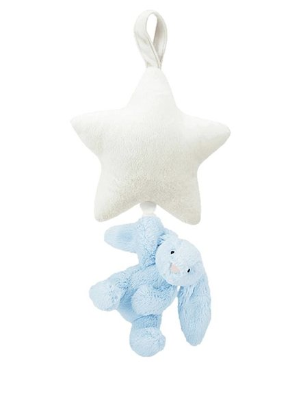Jellycat Bunny Star Musical Blue