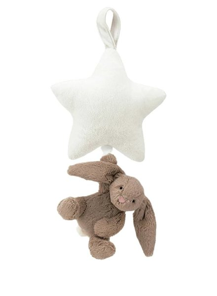 Jellycat Bunny Star Musical Beige