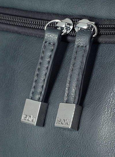 Isoki Double Zipper Balmain Charcoal