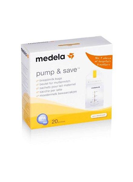 Medela Pump & Save Moedermelk Bewaarzakjes