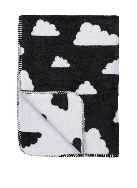 Meyco Wiegdeken Little Clouds Black
