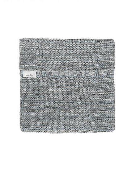 Koeka Wiegdeken Porto Grey Soft Blue