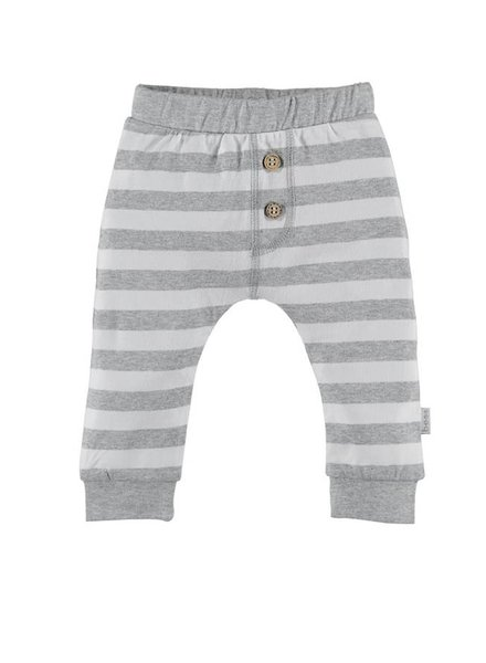 Bess Broekje Striped Grey White