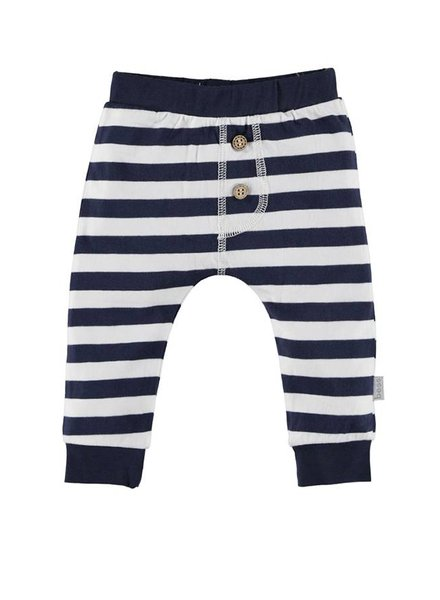 Bess Broekje Striped Blue White