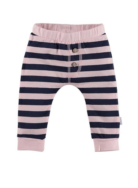 Bess Broekje Striped Pink Blue