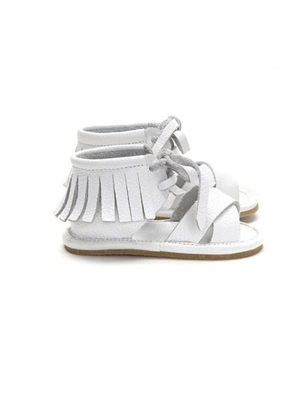 Mockies Boho Sandals White