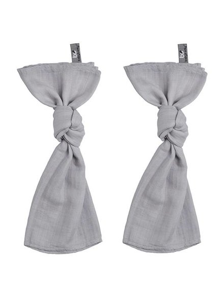 Baby's Only Swaddles Silver Grey 60x70 cm