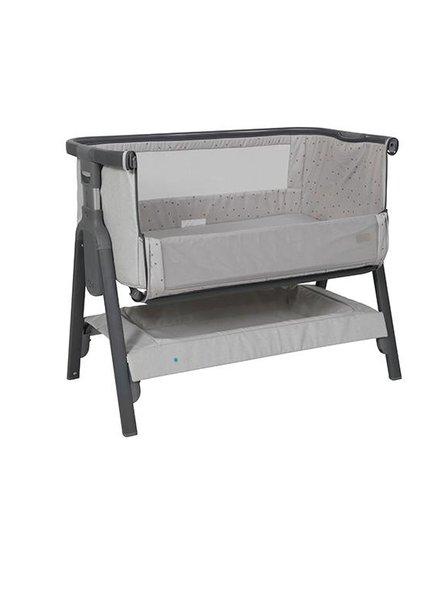 Topmark Bedside Wieg Grey Silver