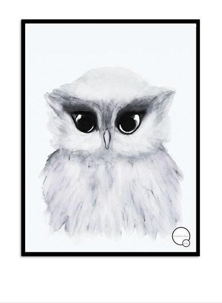 Kreativitum KIDS Poster Owl 30x40 cm