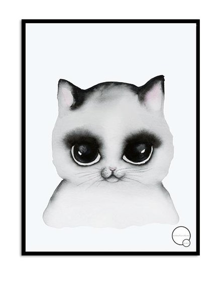 Kreativitum KIDS Poster Cat 30x40 cm
