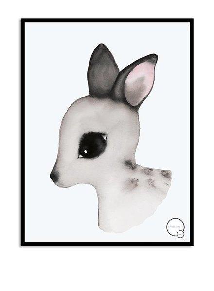 Kreativitum KIDS Poster Deer 30x40 cm