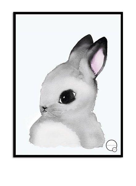 Kreativitum KIDS Poster Bunny 30x40 cm