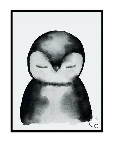 Kreativitum KIDS Poster Penguin 30x40 cm