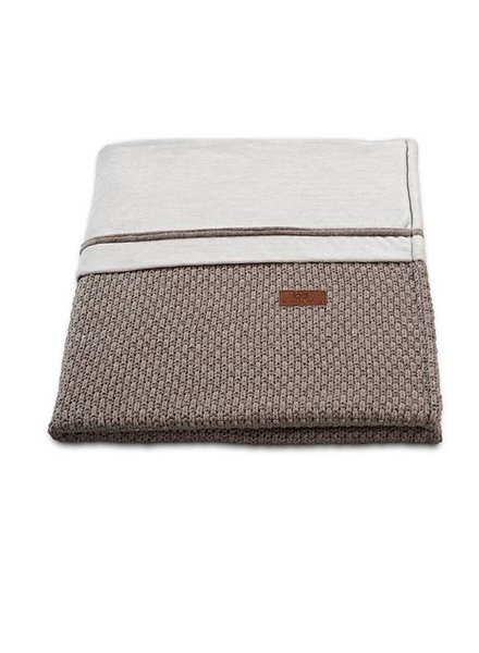 Baby's Only Wiegdeken Chenille Robust Taupe