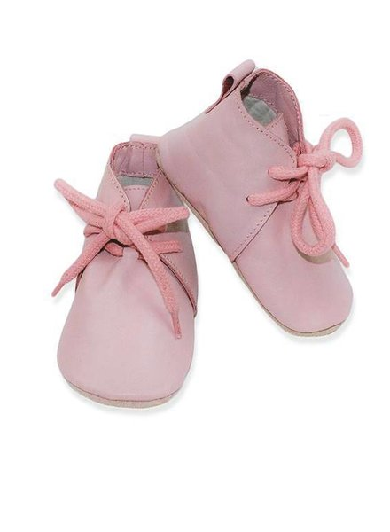 Baby Dutch Hoge Slofjes Roze