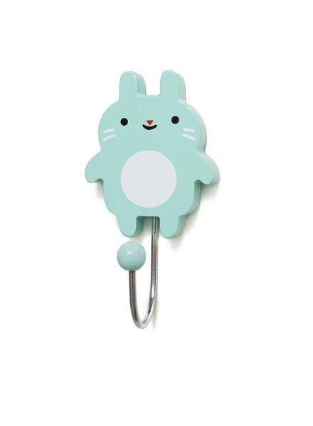 Petit Monkey Wandhaakje Little Bunny Mint