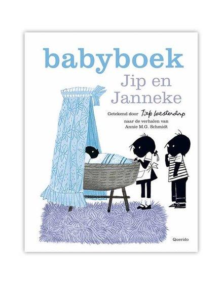 Querido Jip en Janneke Babyboek Blauw