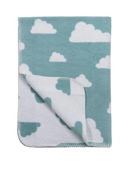 Meyco Ledikantdeken Little Clouds Jade