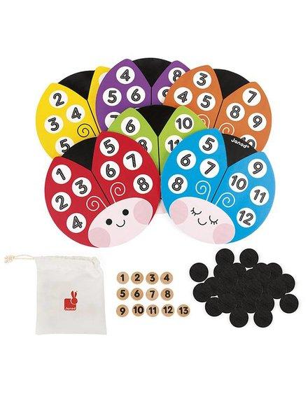 Janod Lotto Bingo Lieveheersbeestje