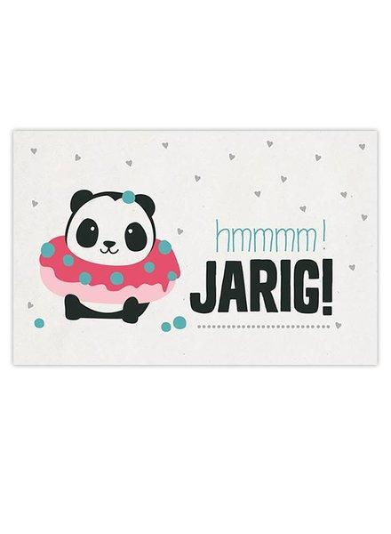 Leuke Kaartjes DOT Panda - Hmmm Jarig