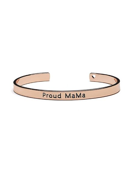 Proud Mama Armband Bangle Rose