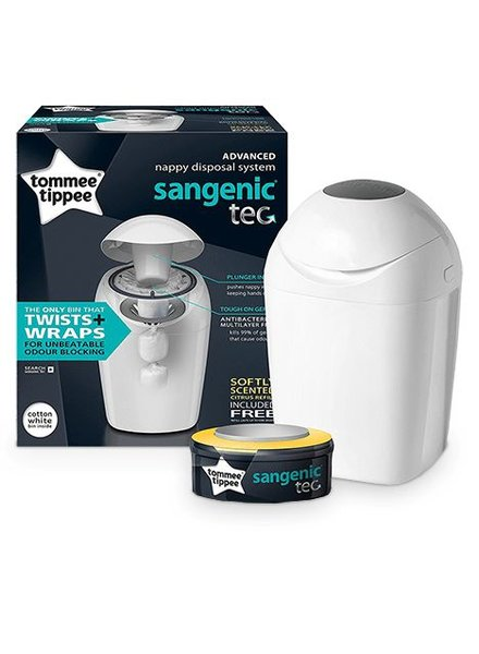Tommee Tippee Sangenic Luieremmer Wit