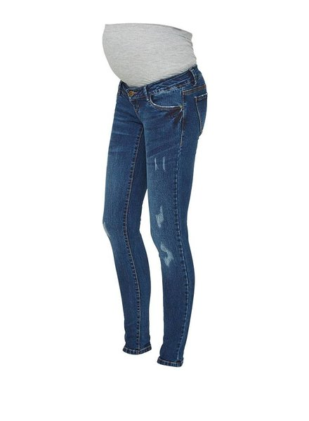 "Mama Licious Augusta Slim Scratched Jeans ""32"