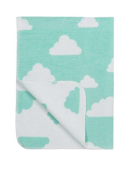 Meyco Ledikantdeken Little Clouds Fresh Mint
