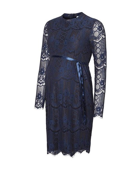 Mama Licious Wilmar Woven Lace Dress
