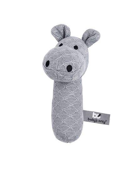 Baby's Only Rammelaar Nijlpaard Grijs