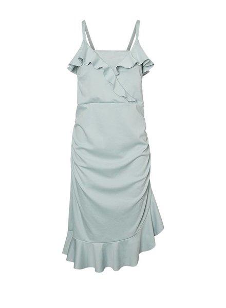 Mama Licious Tua Tess Dress Cloud Blue