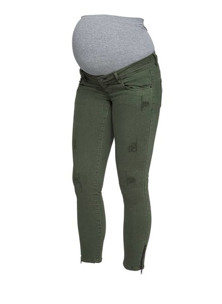 "Mama Licious Zeal 7/8 Slim Jeans Thyme ""32"