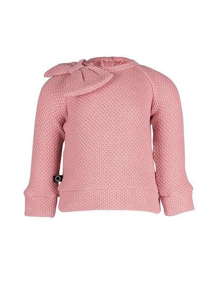nOeser Floor Sweater Bow Fairy Pink