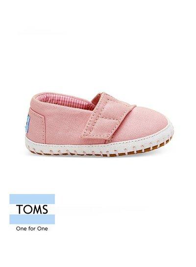Toms Tiny Toms Alpargata Pink Cancas