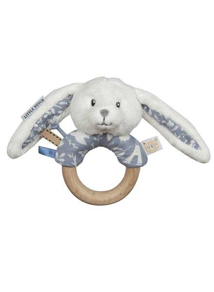 Little Dutch Ring Rammelaar Konijn Adventure Blue