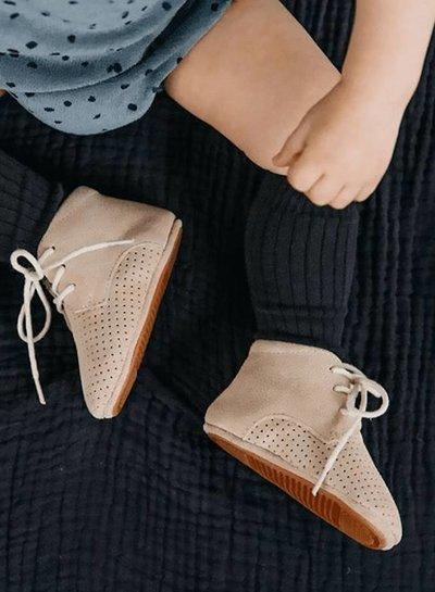 Mockies Mockies Boots Classic Perforated Beige